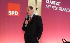 Klartext: Peer Steinbrück in Kiel
